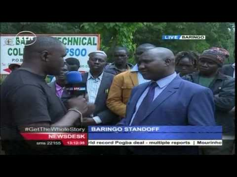 Standoff in Baringo over location of the University