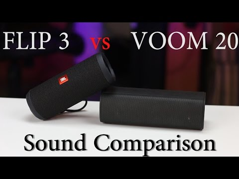 SOUND BATTLE: Jbl Flip 3 Vs VAVA Voom 20 -the Real Sound Comparison