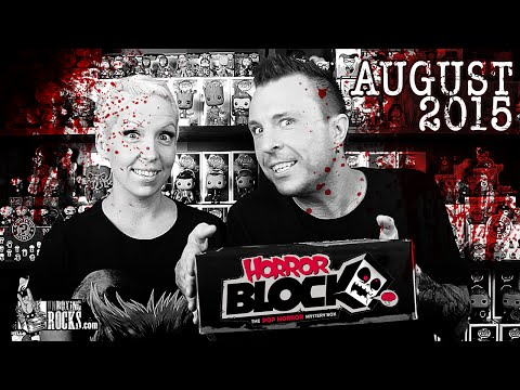 Horror Block : August 2015 Unboxing Review