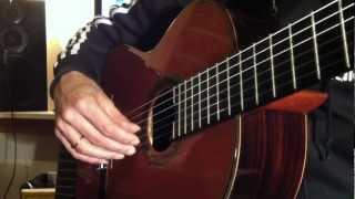 Transmission Musicale (guitare Classique Cours N*2) - Hélios Martinez (I'Riccinaghji)