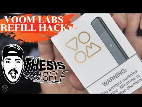 Voom Labs Vape Hack | Easy Refill W/ Jewel Mint 55:  2/2