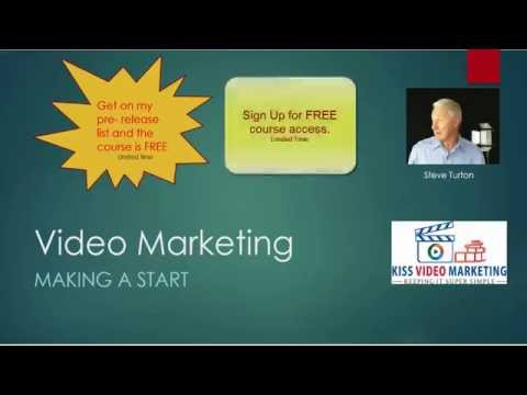 Video Marketing – Making a Start