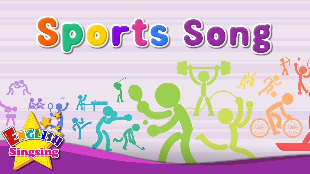 Sports Song – Educational Children Song – Learning English Sports for Kids