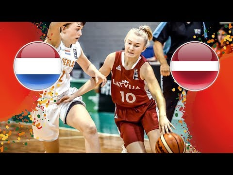 Netherlands V Latvia - Full Game - FIBA U16 Women's European Championship 2018