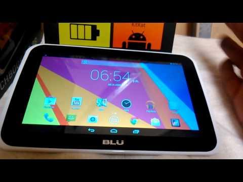 Blu Touchbook 7.0 PhoneTablet Accesorios y funciones basicas.