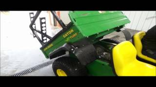 9. John Deere Gator Turf utility vehicle for sale | no-reserve Internet auction May 24, 2016