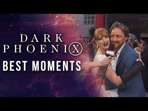 X-Men: Fénix Oscura - Best Red Carpet Moments!?>