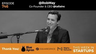 Artificial intelligence, machine learning, and bots are starting to get a lot of buzz, and people are saying that advances in AI is moving faster than anticipated. Our guest today, Rob May, is formerly the CEO and co-founder of Backupify, and is now the CEO and co-founder of Talla, which builds intelligent assistants to help knowledge workers better do their jobs. Talla has developed a text-based messaging assistant that uses machine learning and natural language processing to automate human resources & IT tasks. Join us as Rob explains why bots are a better interface, what sets Talla apart from the AI space, and shares his predictions on AI's impact on jobs.