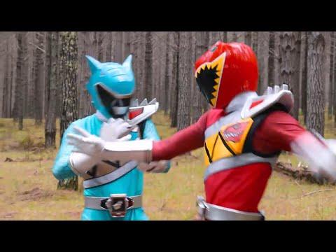 Aparece el Ranger Aqua - Tyler se reencuentra con su padre   PR Dino Super Charge Capitulo 5