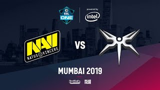 Na`Vi vs Mineski, ESL One Mumbai 2019, bo3, game 2 [Adekvat & Lost]