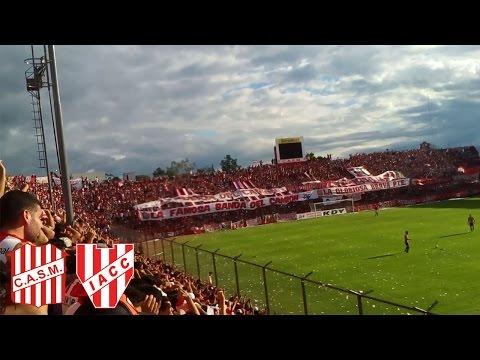 San Martín vs Instituto | LA HINCHADA DEL SANTO - La Banda del Camion - San Martín de Tucumán