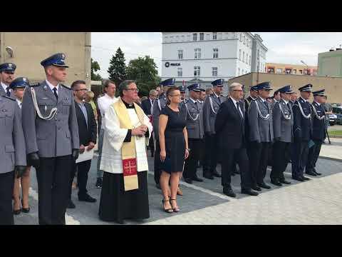 Wideo1: Otwarcie policyjnej strzelnicy w Lesznie