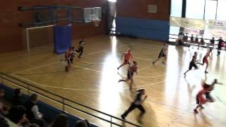 Sanga – Udine 3° quarto