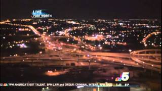 UFO On Fort Worth, Texas, KXAS