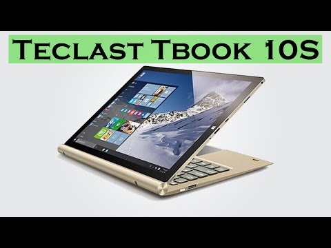 Teclast Tbook 10 S with Stylus - 10.1 inch / Windows 10 + Android 5.1 / 4GB RAM / 64GB ROM