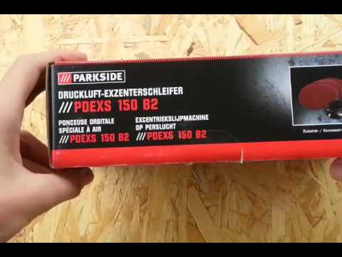 Parkside Druckluft Exzenterschleifer PDEXS 150 B2