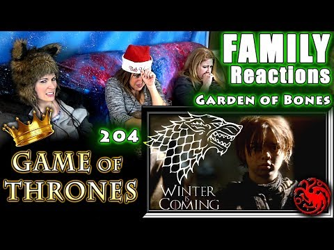 Game Of Thrones | 204 | Garden Of Bones | FAMILY Reactions | Fair Use