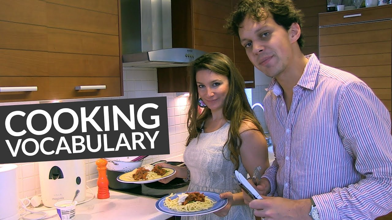 real english kitchen and cooking vocabulary 183 engvid