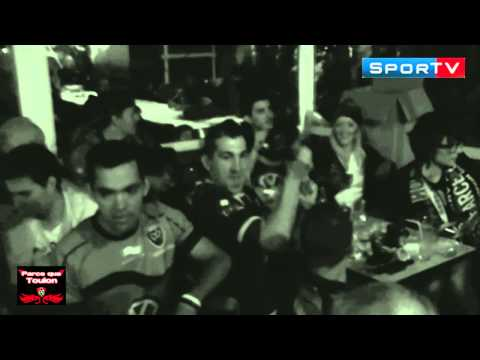RC - Rugby Top14 Demi-Finale RC Toulon vs Toulouse Joie des Supporters Brasserie du Stade Toulon 2013 http://youtu.be/tgkLyctC43I.