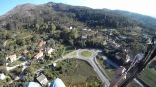 Caldelas Portugal  City pictures : GoPro® by Rafael (Parapente Caldelas) PORTUGAL