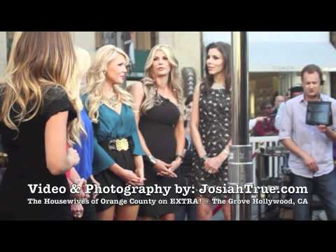 The Real Housewives of Orange County Season 7 Cast on EXTRA at The Grove!