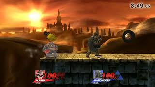 Should I be happy that I got this, even though the Ganondorf fell into it…twice? 1:52
