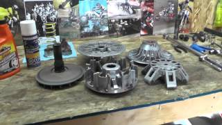 10. Servicing Maintain Canam Clutches