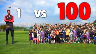 Video 100 KIDS vs 1 PRO Footballer In A Soccer Match MP3, 3GP, MP4, WEBM, AVI, FLV Desember 2018