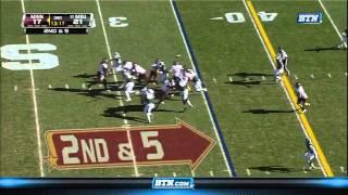 Trenton Robinson vs Minnesota 2011
