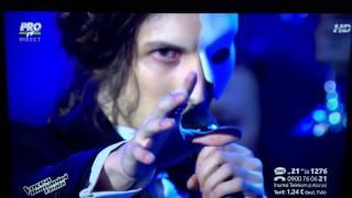 Tiberiu Albu & Irina Baiant - The phantom of the opera - Vocea Romaniei finala 2014