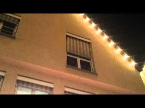 Weihnachtsbeleuchtung weil der Stadt Dez 2015