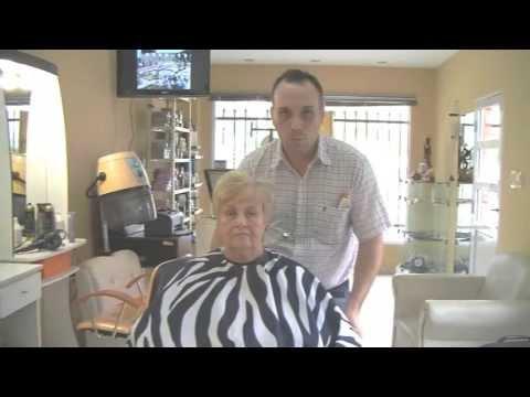 Corte de Cabello para Mujer Tercera Edad – Haircut Elderly Woman