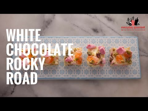 Cadbury White Chocolate Rocky Road | Everyday Gourmet S6 E10
