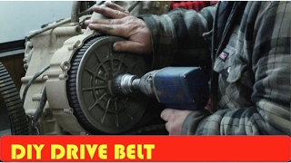10. How to Change Arctic Cat Drive Belt 650h1