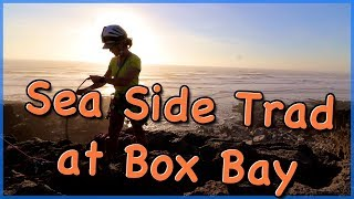 Sea Side Trad Climbing at Box Bay - The Climbing Nomads - Vlog 42 by The Climbing Nomads