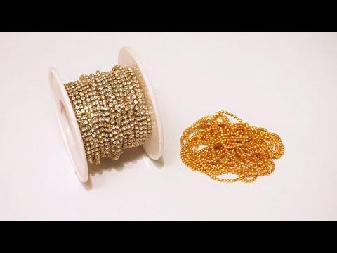 How To Make Simple and Beautiful Designer Earrings At Home   DIY   Jewelry Making   uppunutihome