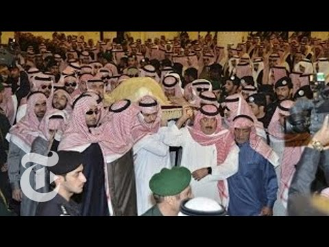 By - Saudi Arabia's King Salman led prayers for King Abdullah in Riyadh ahead of his burial Friday afternoon. Read the story here: http://nyti.ms/1yCPmRV Subscrib...