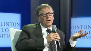At Clinton Global Initiative, Michael Gerson and Bill Gates Talk Vaccines, Disease Prevention, Nutri