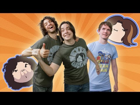 I liked a video from @gamegrumps  NEW Game Grumps and Steam Train Shirts!!