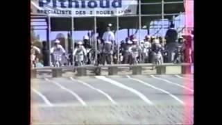 Dardilly France  city pictures gallery : BMX Dardilly demi finale Sud Championnat de france 1988