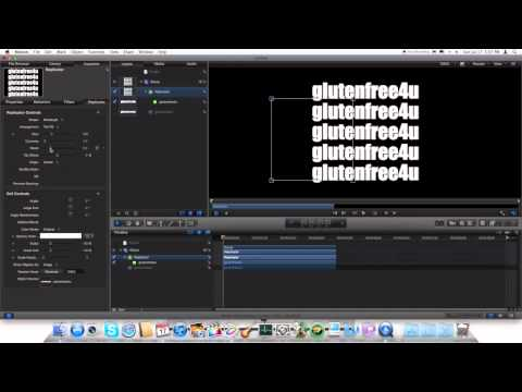 motion 5 tutorial shining - here we show you how to create 3d text in motion with out any plugins. Although you can't track 3D text in motion 5, i have made a tutorial for tracking 2D t...