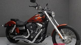 6. 2011  HARLEY DAVIDSON  FXDWG DYNA WIDE GLIDE  - National Powersports Distributors