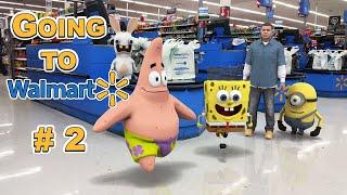 Going to Walmart (Part 2/4) - SpongeBob in real life