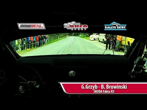 Rally Tatry 2017 - G Grzyb - B. Browinski - RS2 Huta2