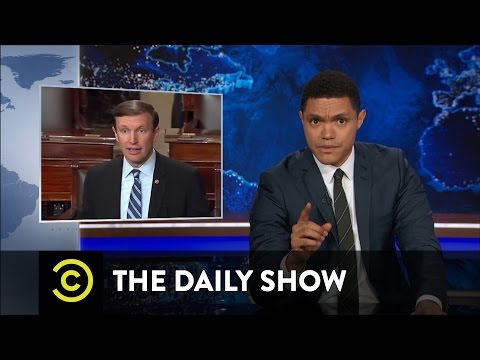 Senate Democrats Filibuster for Gun Control: The Daily Show