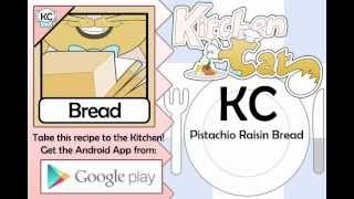 KC Pistachio Raisin Bread YouTube video
