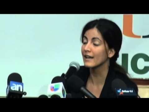 Hija del fallecido opositor Oswaldo Payá llama a vencer el miedo en Cuba