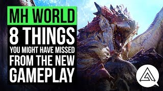 Here are a few subtle things you might have missed from the most recent Monster Hunter World gameplay.If you enjoyed the video, don't forget to leave a LIKE and COMMENT down below. SUBSCRIBE for daily gaming videos!MH WORLD ARMOR & SKILLS:https://www.youtube.com/watch?v=s3GdUhg56l0MH WORLD WEAPON BREAKDOWN:https://www.youtube.com/watch?v=MyY6PPEJLVQ► Subscribe to my second channel: https://www.youtube.com/c/Arekkz► Follow me on Twitter: http://www.twitter.com/Arekkz►Join the Arekkz Gaming Discord: https://discord.gg/NvSVGYK► Follow me on Twitch:http://www.twitch.tv/ArekkzGaming► Follow TwoSixNine on Twitchhttps://www.twitch.tv/twosixnine► Like Arekkz Gaming on Facebook: http://www.facebook.com/ArekkzGaming► Follow me on Instagram:https://instagram.com/arekkz/Check out the HyperX Headset I use:https://www.amazon.co.uk/gp/product/B01CZX6U3U/ref=as_li_tl?ie=UTF8&camp=1634&creative=6738&creativeASIN=B01CZX6U3U&linkCode=as2&tag=arekgami-21