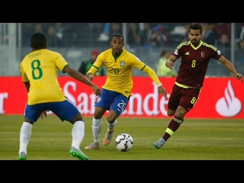 Copa America 2015 – Brazil vs Venezuela (2-1) / All goals and highlights
