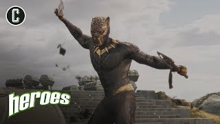Black Panther: The Revolution Will Be Live - Heroes by Collider